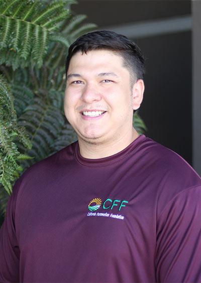 Outreach Specialist Daniel Saldana